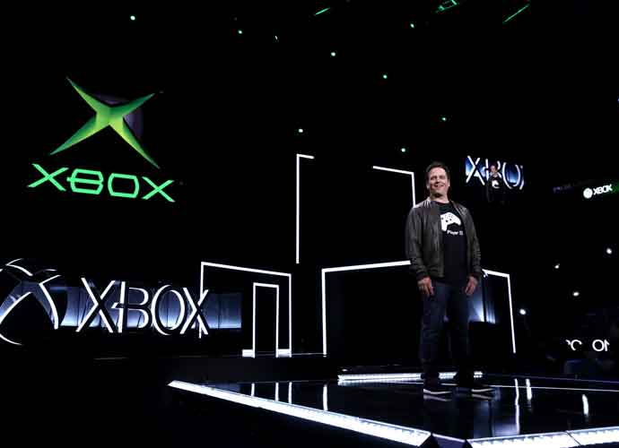 Phil Spencer, Head of Xbox, announces original Xbox Backward Compatibility at the Xbox E3 2017 Briefing on Sunday, June 11, 2017 in Los Angeles. (Image courtesy of Xbox)