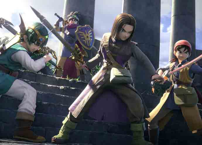 Dragon Quest's Heroes in Super Smash Bros. Ultimate