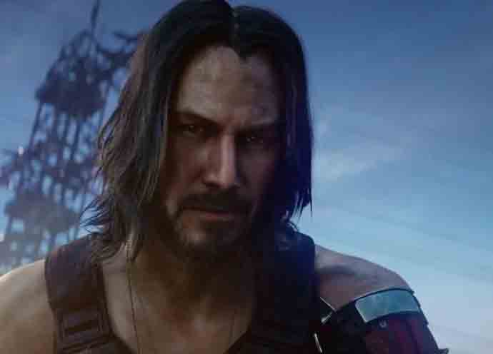 Keanu Reeves in Cyberpunk 2077 (Image courtesy of CD Projekt Red)