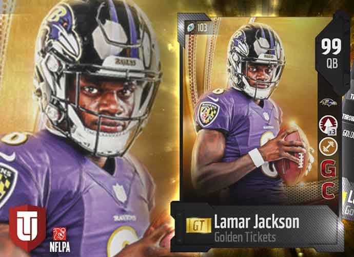 Lamar Jackson Breaks Record In 'Madden 20' As Fastest QB In The Game