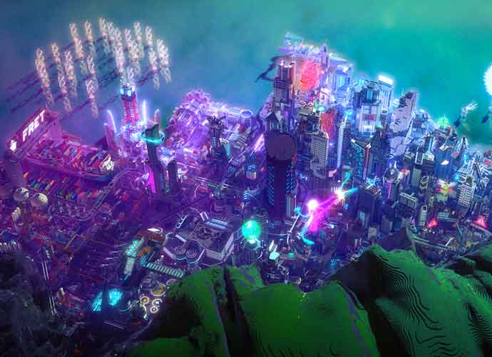 Minecraft YouTuber Elysium Fire Makes Huge Metropolis In Cyberpunk 2077 World