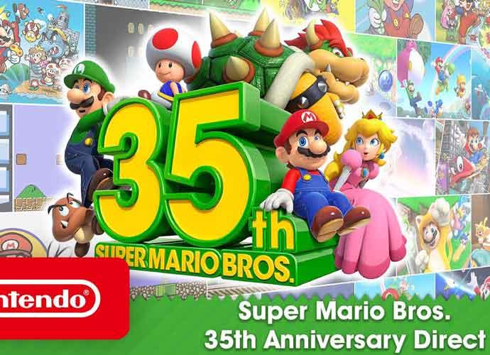 Super Mario's 35th anniversary