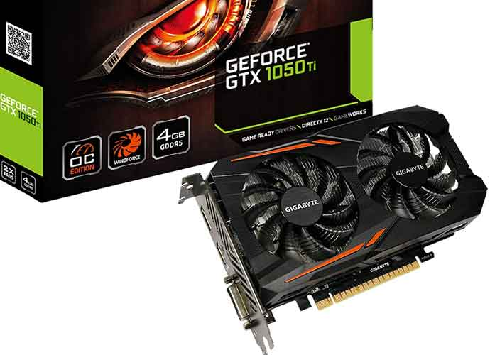 Unexpected Restock of Nvidia 1050 Ti Selling Out Fast (Image: Gigabyte)