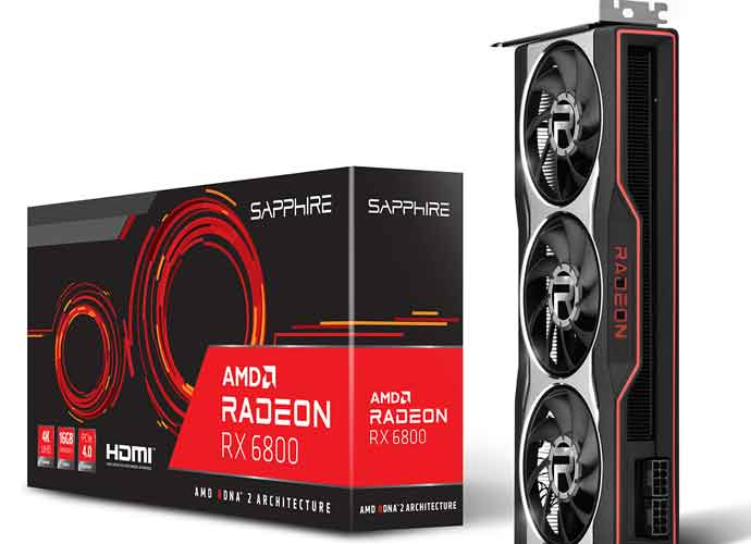 AMD RX 6800 XT Reference Design (Image courtesy of Radeon)