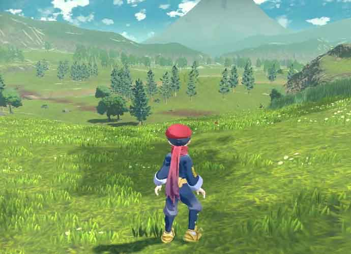 'Pokemon Legends Arceus' (Image: Pokemon)