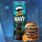 Pringles Makes New 'Halo Reach' Moa Burger Flavored Crisps