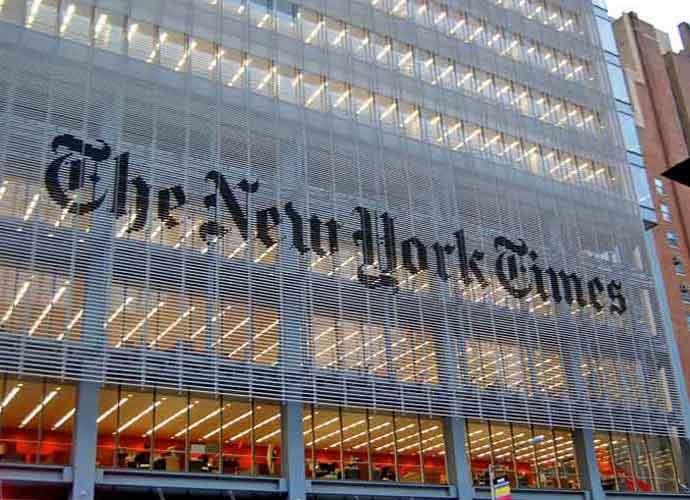 N.Y. Times Headquarters (Image: Getty)