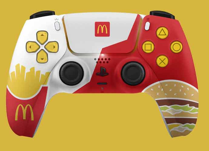 PlayStation5 McDonalds controllers (Image: McDonald's)