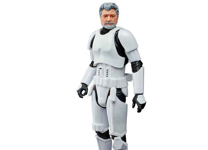 New 'Star Wars' Action Figure Turns Creator George Lucas Into A Stormtropper